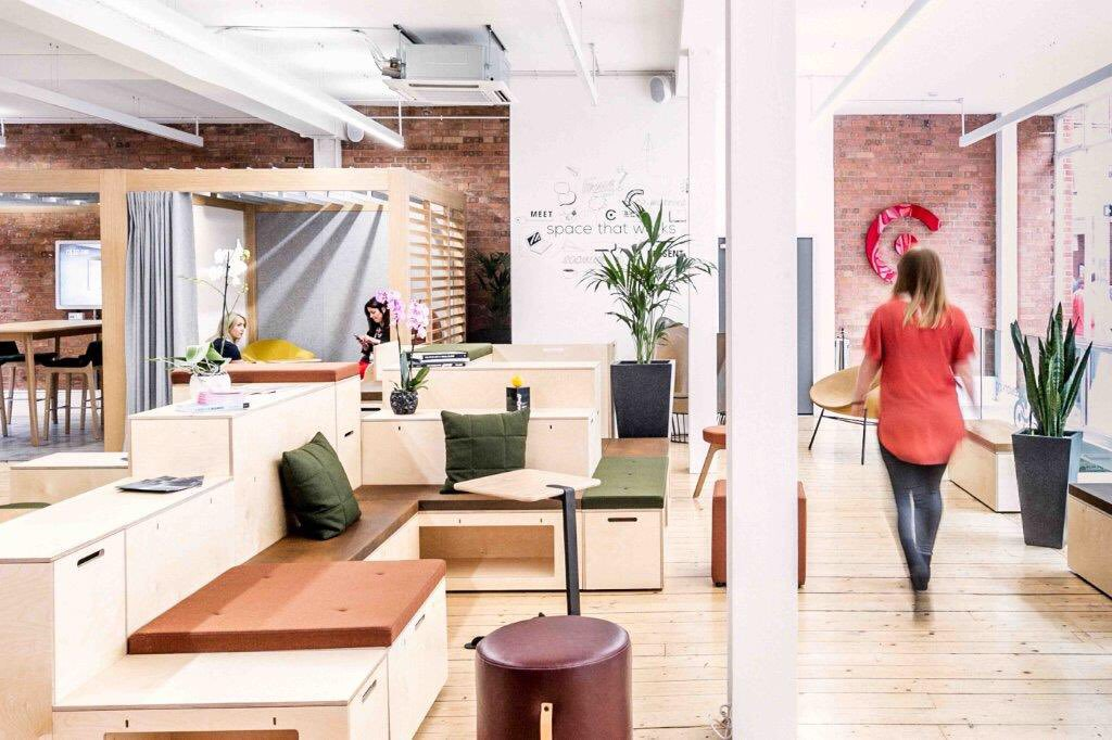 Mobilier espace coworking