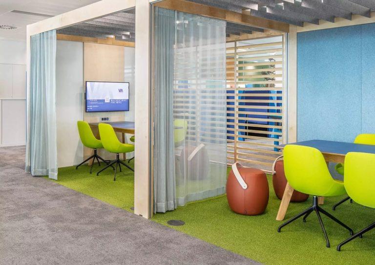 Agencement bureaux et stress