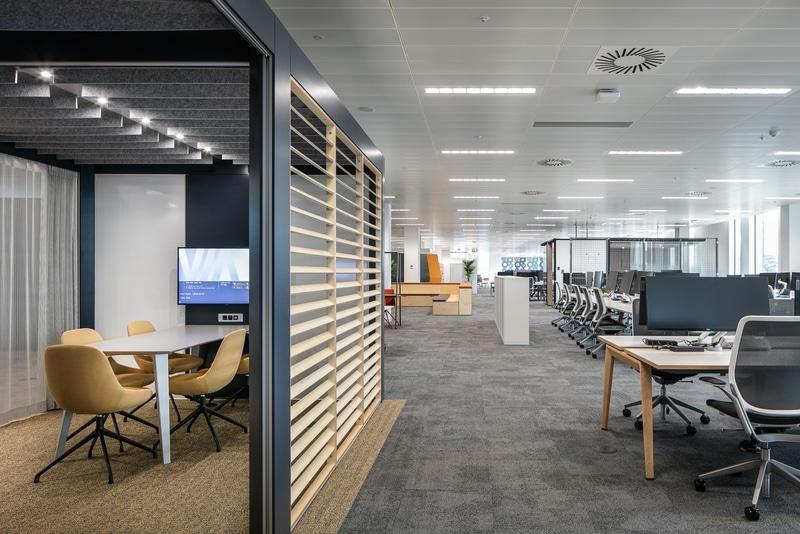 Aménagement de bureaux modernes
